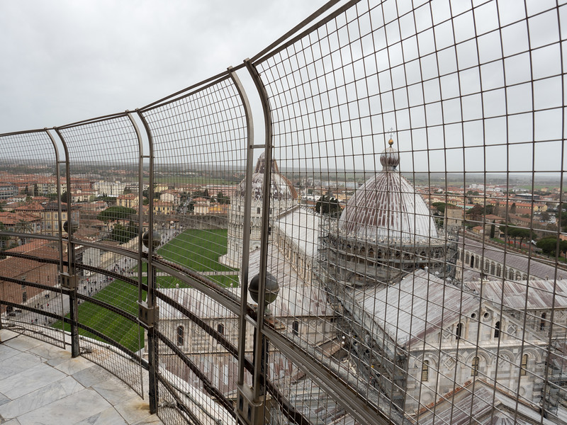 Up the Leaning Tower of Pisa