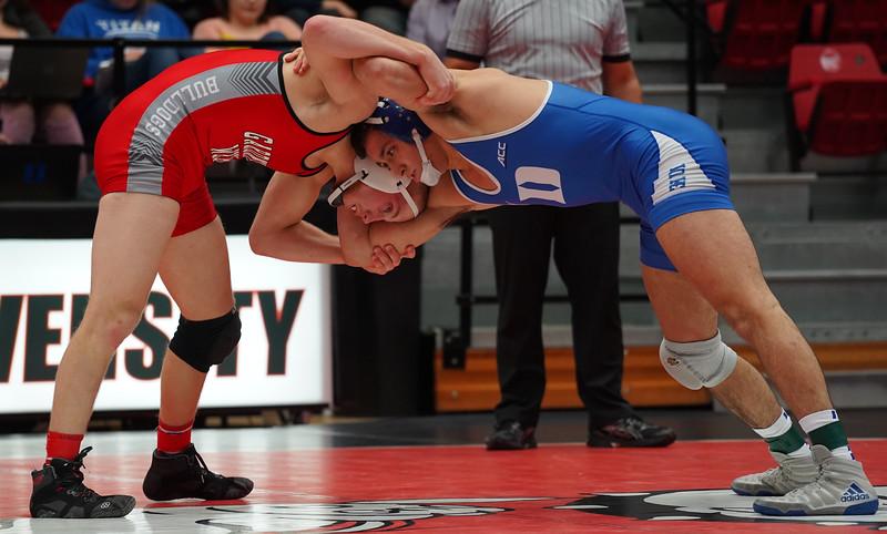 Wrestling vs. Duke