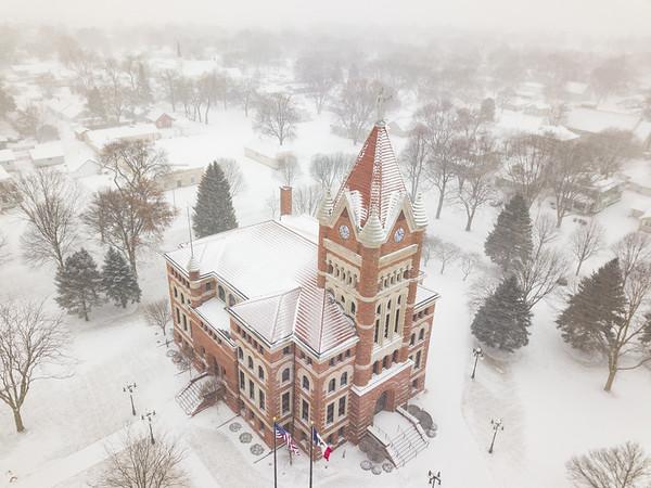 Orange City Snow