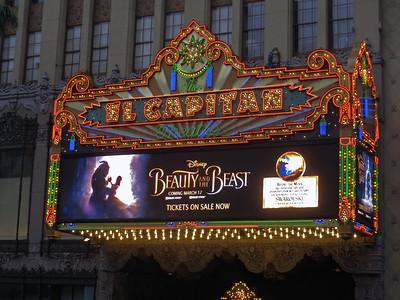 El Capitan Theatre - Beauty and the Beast (2017)