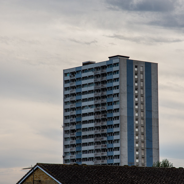 High rise council estate in Enfield
