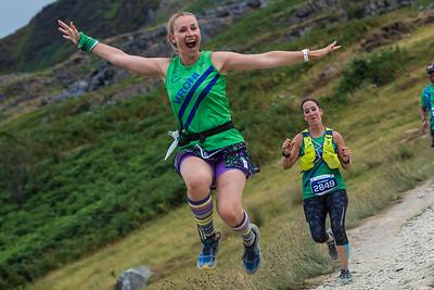 Snowdonia Trail Marathon - Half  at Snowdon Descent 15K