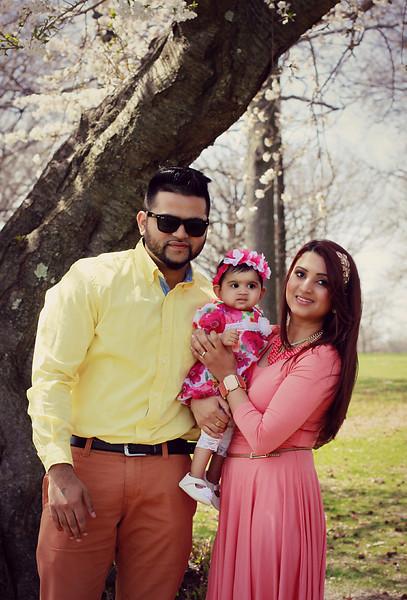 Kiran Kaur & Family