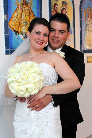 Laura and Javier's wedding