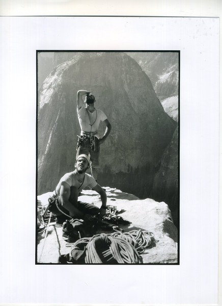10 The Two Greatest Climbers - Royal and Chuck Pratt - El Cap Spire '61.jpg