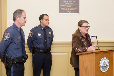 2015-12-01: Gloucester Co LEC Award Presentation