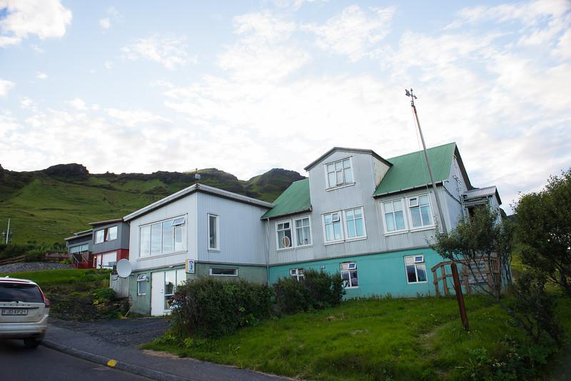Vik - Puffin House - aka crooked house
