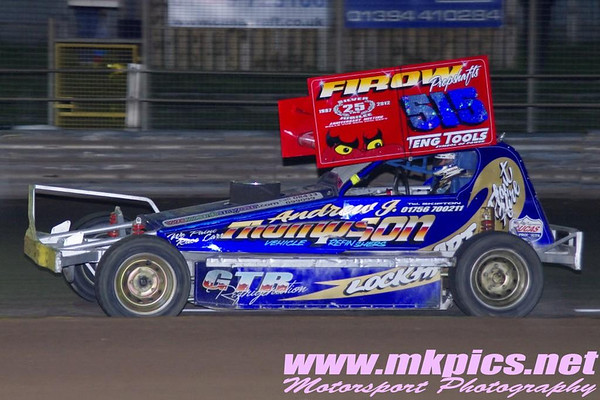 BriSCA F1 Stockcars, World Qualifying round, Ipswich 23 June 2012
