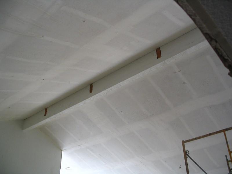 Living room ceiling.