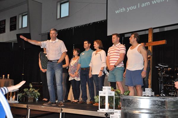 North Campus April 2018 Baptisms
