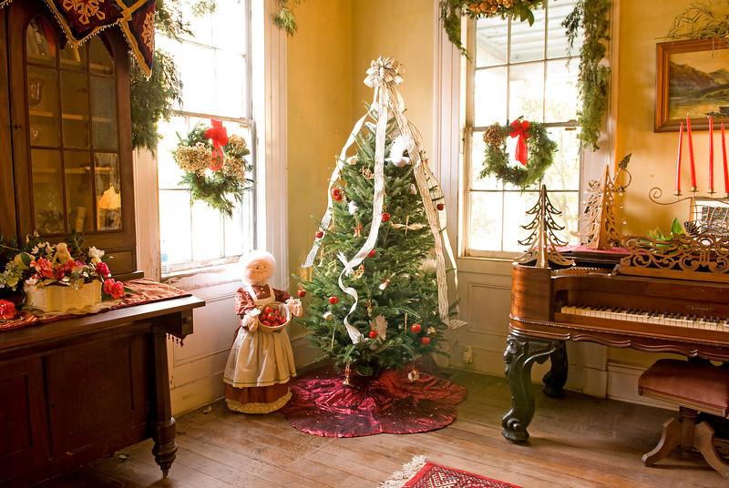 McLeod Plantation - Christmas 2008