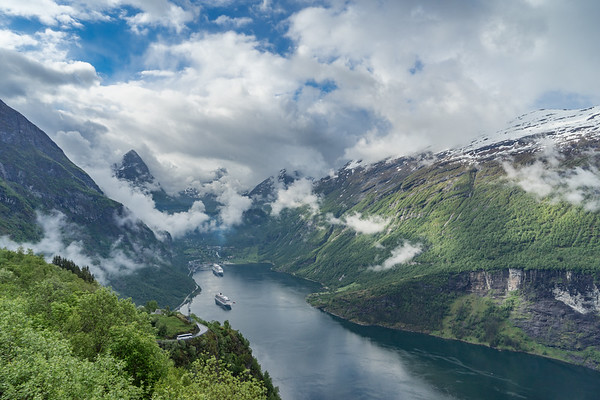 Geiranger Fjord and Loen Norway