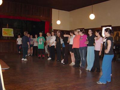 Dance Instructors, Rehearsals