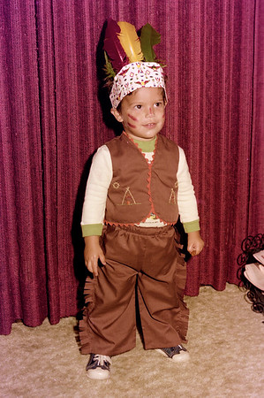 1976-10-30 Anthony's 2nd Halloween & Dianna