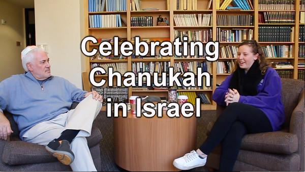 Gefen talks with Steve Klein about Chanukah in Israel