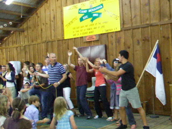 """Andrew Lewis's """"I Love Chicken Nuggets"""" song 2011 Camp Hosanna.AVI"""