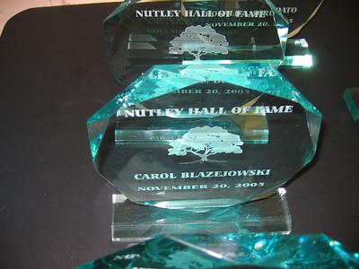 Carol - Nutley Hall of Fame