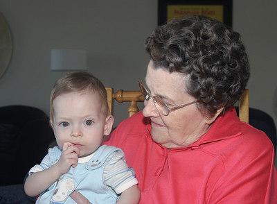 Adrik Meets His Grandmothers