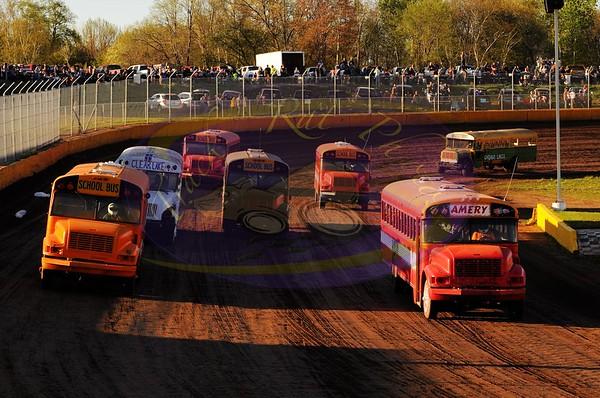 School Bus Races - May 15, 2020