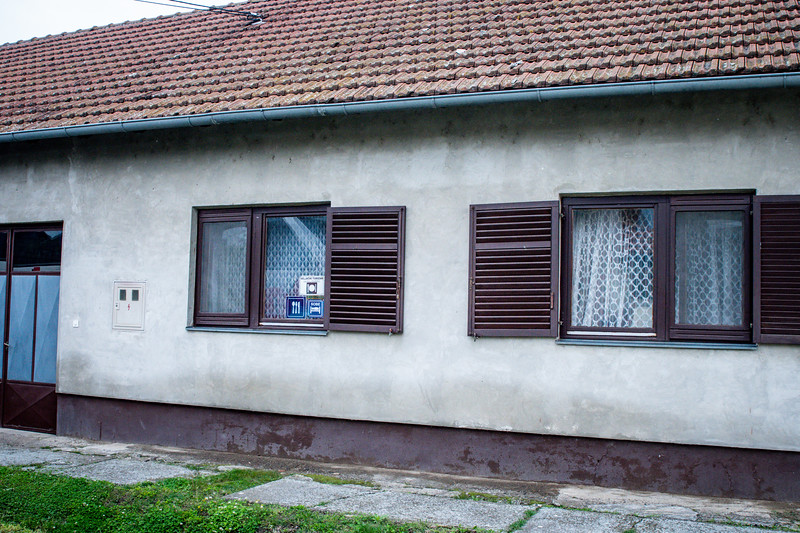 Took buses to 4 different close-by homes for a home-hosted lunch in Vukovar, Croatia.