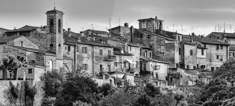 Hill Towns: Colle di Val d'Esta