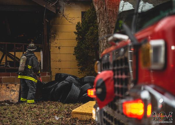 Detroit MI, House Fire 2-17-2020