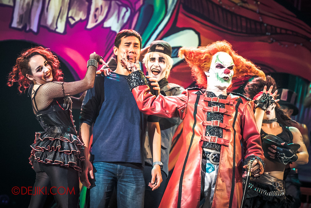 Halloween Horror Nights 6 Final Weekend - Jack's Recurring Nightmare Circus / James victim The Short Fuse