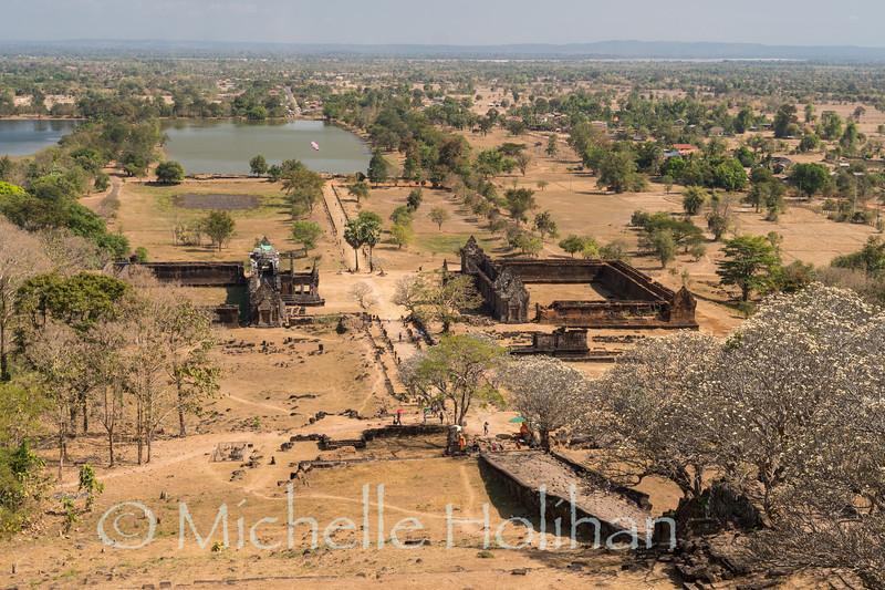 Wat Phu Temple World Heritage site in Champasak, Laos