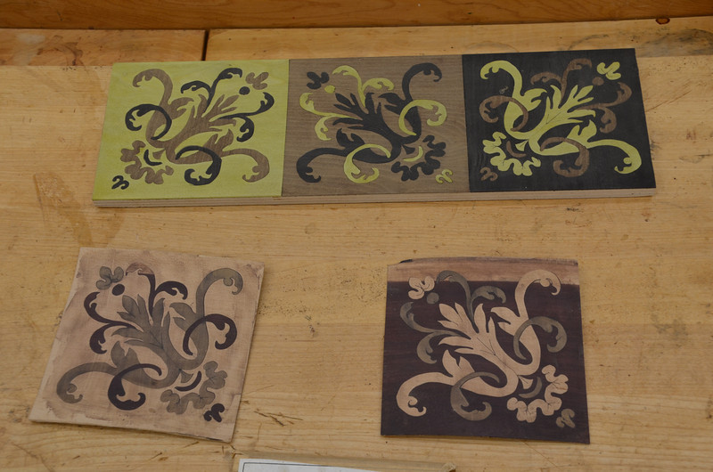 Painting With Wood: French Marquetry with Edwards