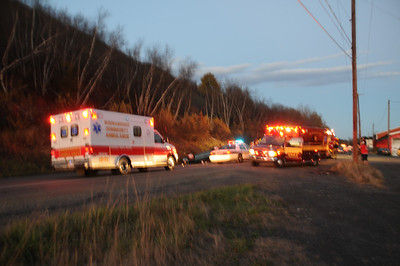 MAHANOY TOWNSHIP VEHICLE ACCIDENT w ENTRAPMENT 10-28-2010 VIDEOS AND PICTURES BY COALREGIONFIRE