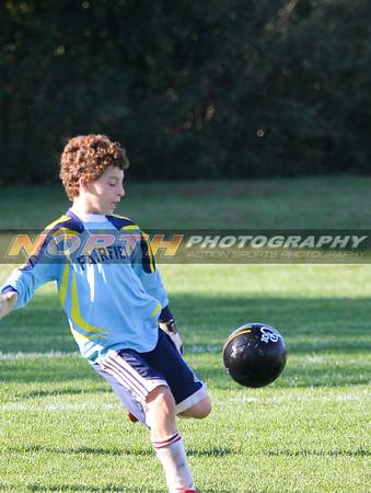 10/12/2008 (Boys U13 Red) Northport Armada vs. Fairfield United Titans