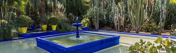 Jardin Majorelle Morocco