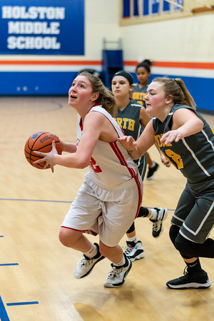 2020-01-24 - Sullivan North Middle Girls vs Colonial Heights