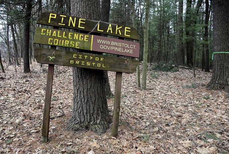 2/18/2020 Mike Orazzi | Staff The Pine Lake Challenge Course in Bristol.