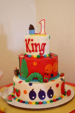 Kingston's 1st Birthday Party