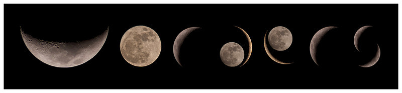 Vorders Lunar font....for a very nice colleague who likes her numbers :-) All 'letters' or lunar phases captured from the last 'Supermoon' cycle with Olympus E5 & 90-250mm + x2 TC. Put together in Pixelmator.