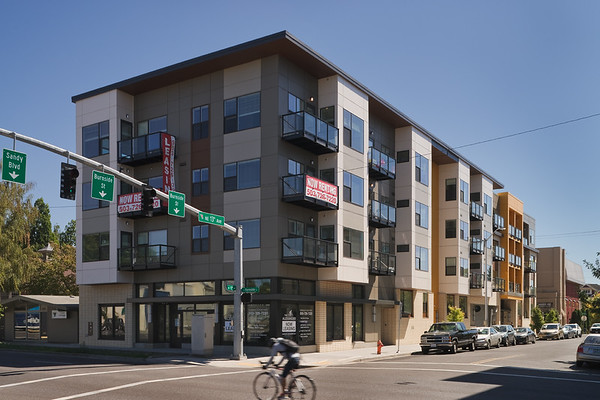 The Alexander Apts, Portland OR  Client: Myhre Group Architects, Portland OR.