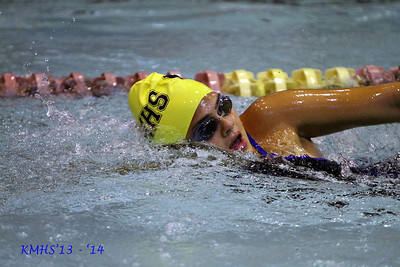 Girls Var Swimming 10-7-13MrAccardi
