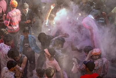 Holi Festival Vrindavan and Mathura