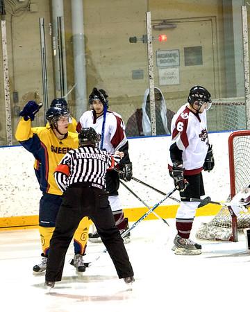 Men's Hockey - Queen's at Ottawa 20081107