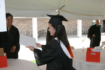Wilson College diploma distribution