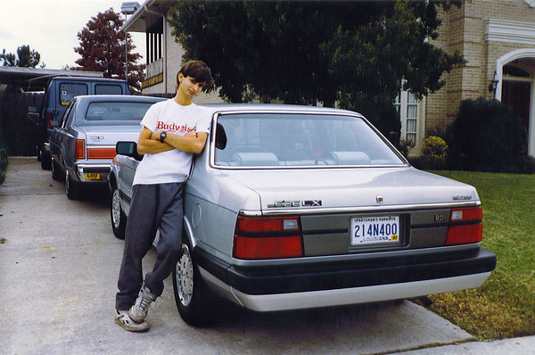 1986 Mazda 626 (owned ~1992-1996)