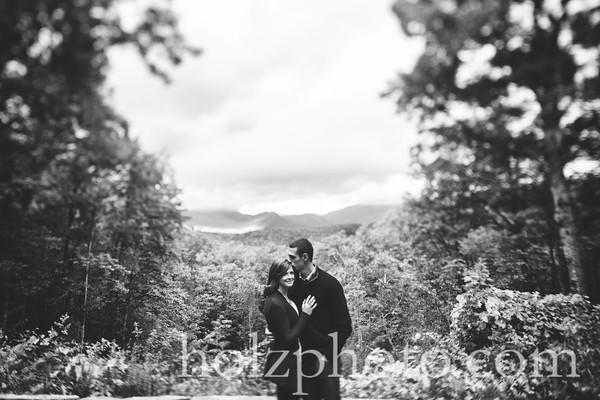 Natasha & Shane B/W Engagement Photos