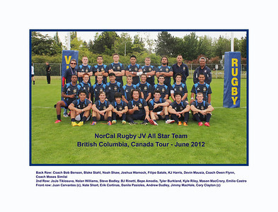 Rugby - NCYRA / Bay All Star