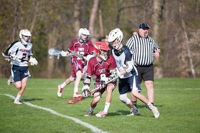 4/22/16: Boys' Thirds Lacrosse v Rumsey