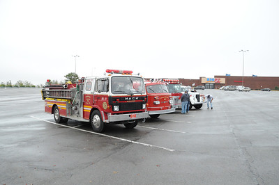 SCHUYLKILL HISTORICAL FIRE SOCIETY MUSTER PRE-PARADE STAGING PICTURES 10-3-2010 PICTURES BY COALREGIONFIRE