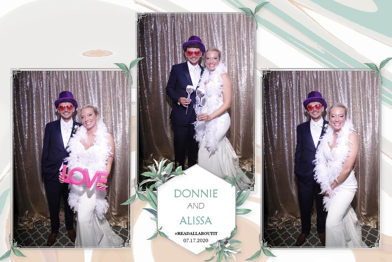 THE WEDDING OF DONNIE AND ALISSA
