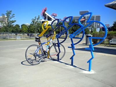 2010 Bike Rack Sculptures