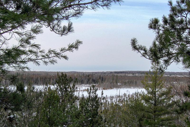 Big Knob-Crow Lake Pathway  (3.5 miles; d=3.90)