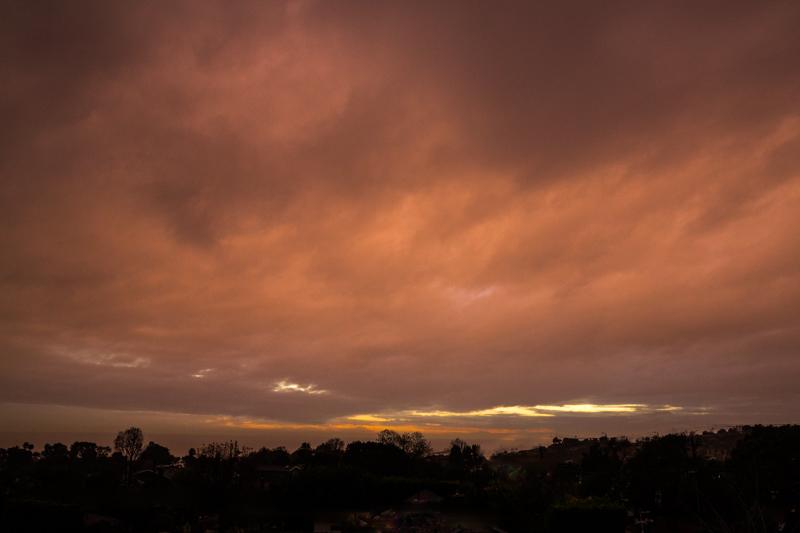 January 8 - Rainy sunset over Los Angeles.jpg